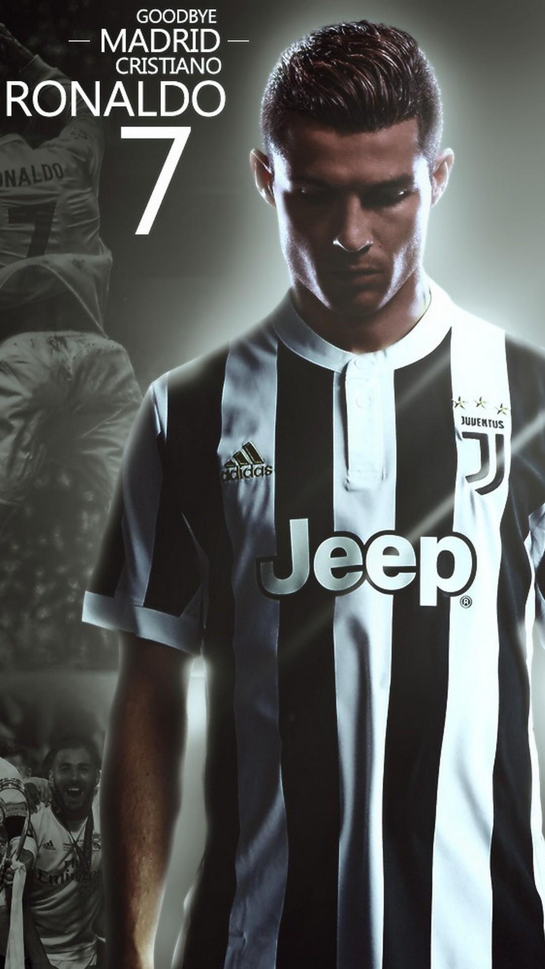 iPhone Wallpaper CR7 Juventus 2019 3D iPhone Wallpaper 1080x1920