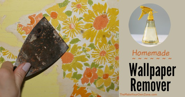 Vinegar Water Homemade Wallpaper Remover   The Make Your Own Zone 600x315