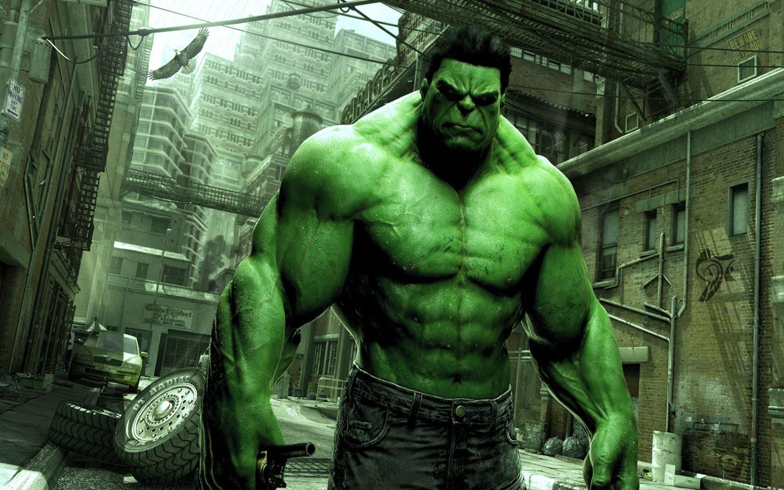 Green marvel comics hulk wallpaper 12410 PC en 1600x1000