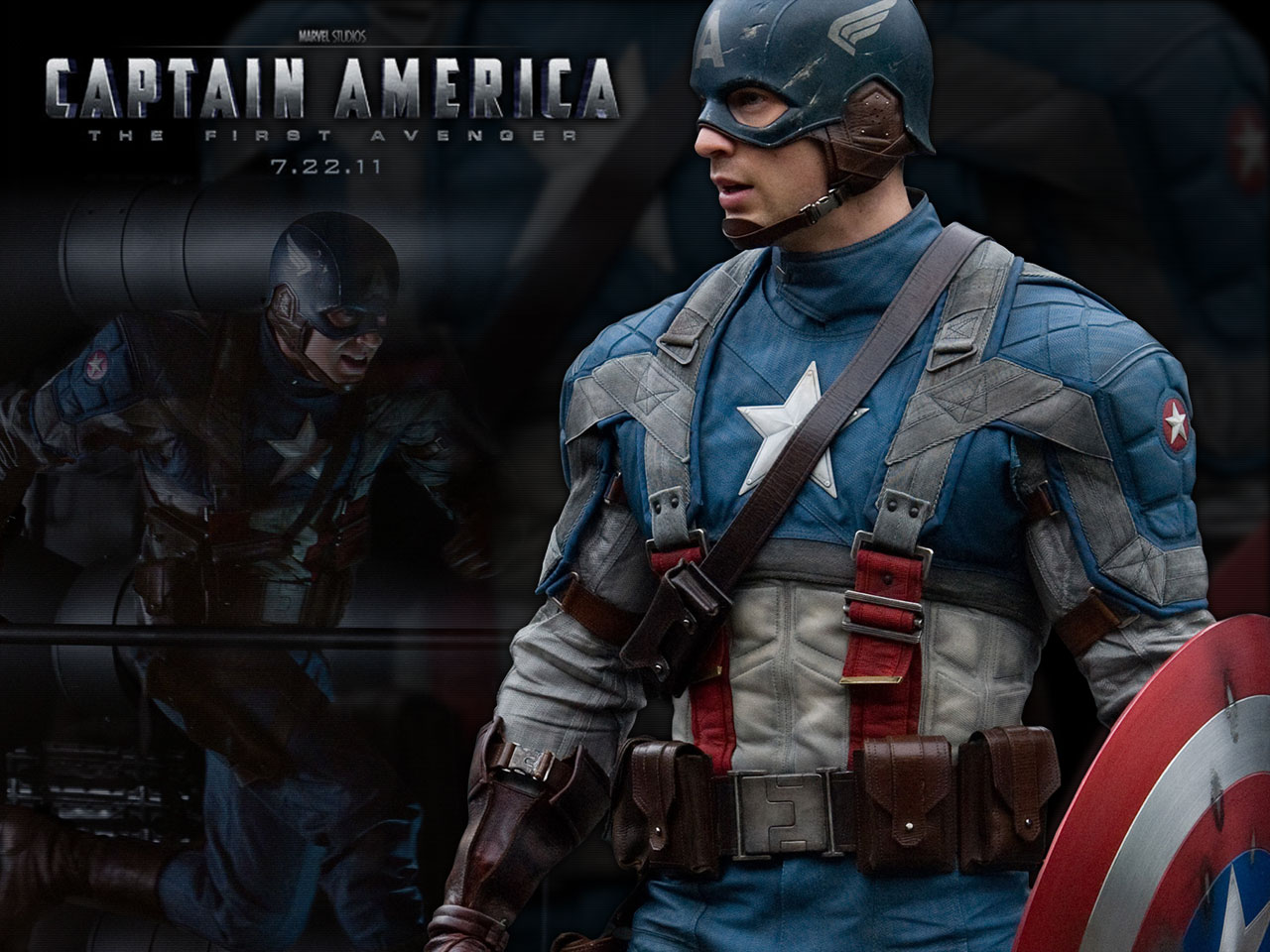 Captain America The First Avenger HD Poster Wallpapers Download 1280x960