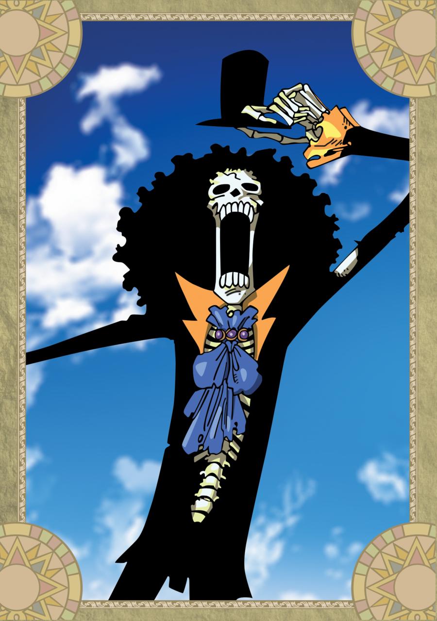 Brook   One Piece by xxJo 11xx 900x1280