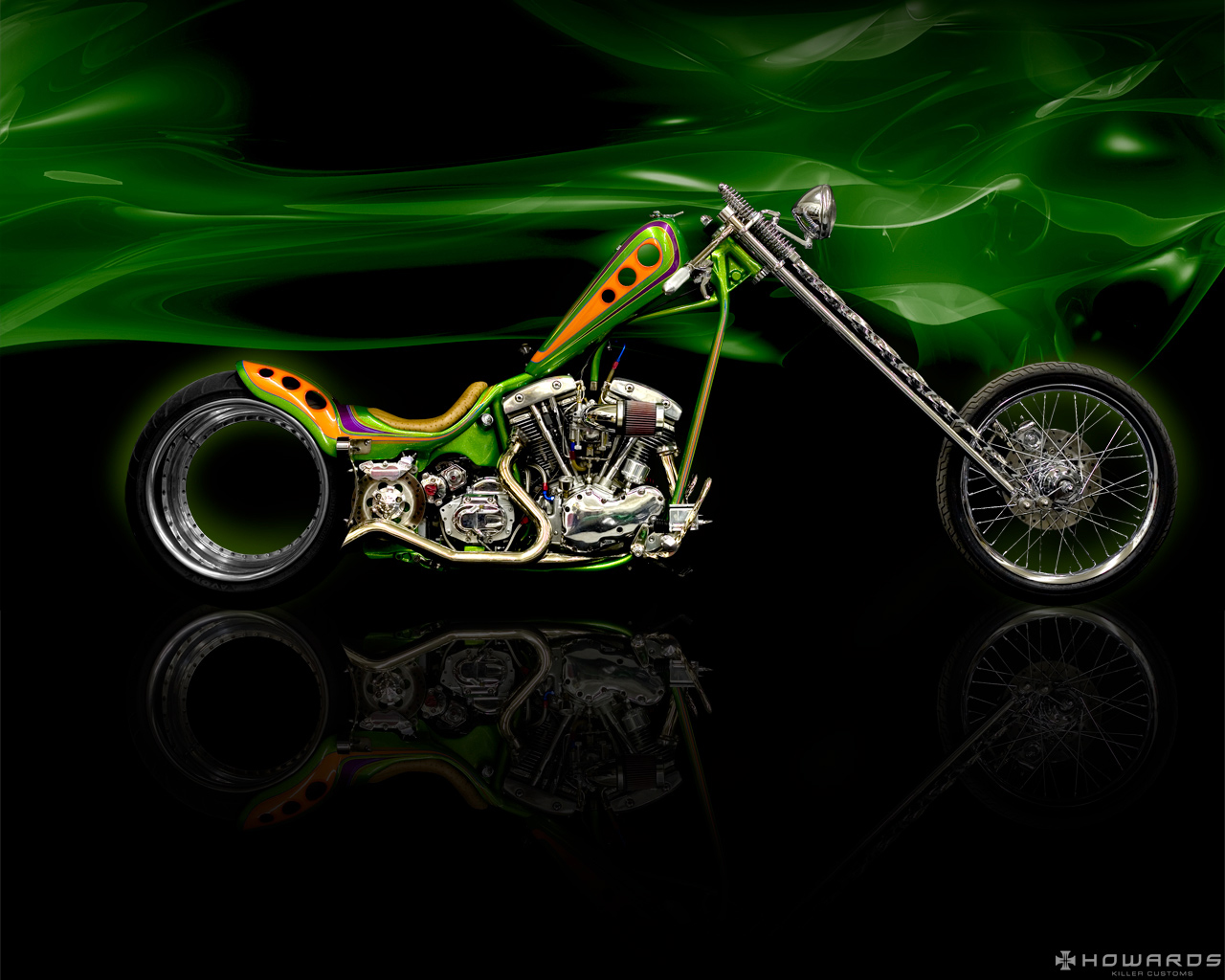 Harley Davidson Chopper Exclusive HD Wallpapers 1920 1280x1024