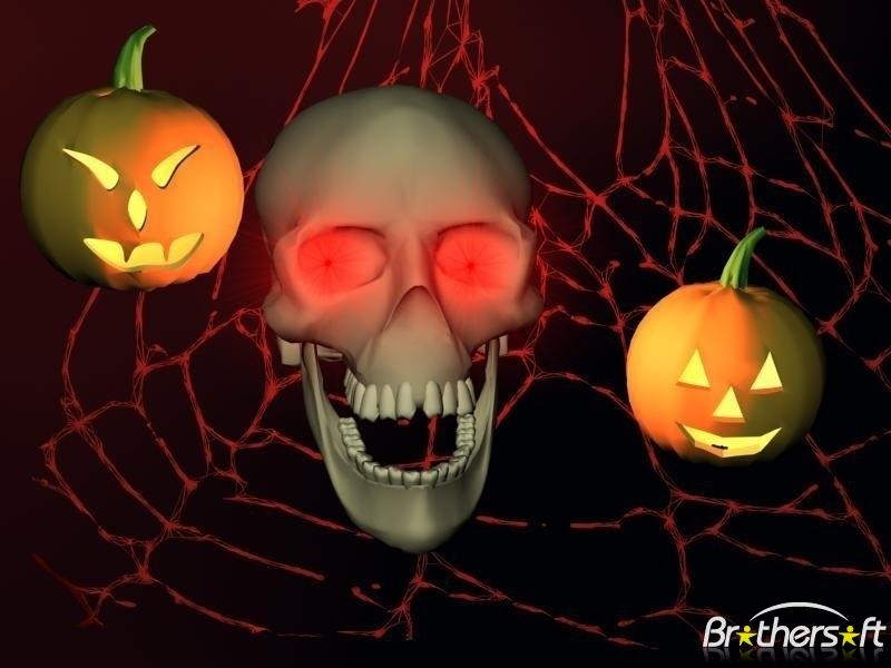 Download 3D Halloween Horror screensaver 3D Halloween Horror 800x600