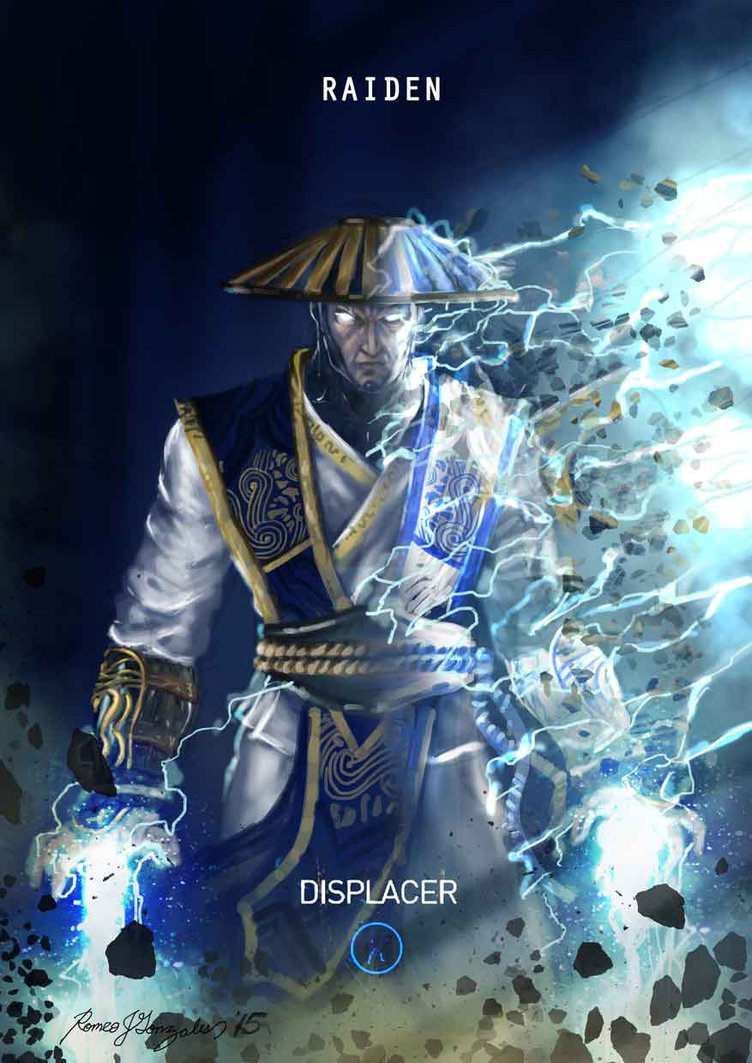 Mortal Kombat X Raiden Displacer by Grapiqkad 752x1063