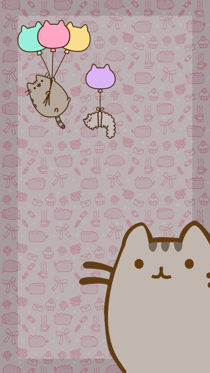 We love Pusheen   Pusheen Smartphone Wallpaper by Myrellibelli on 720x1280