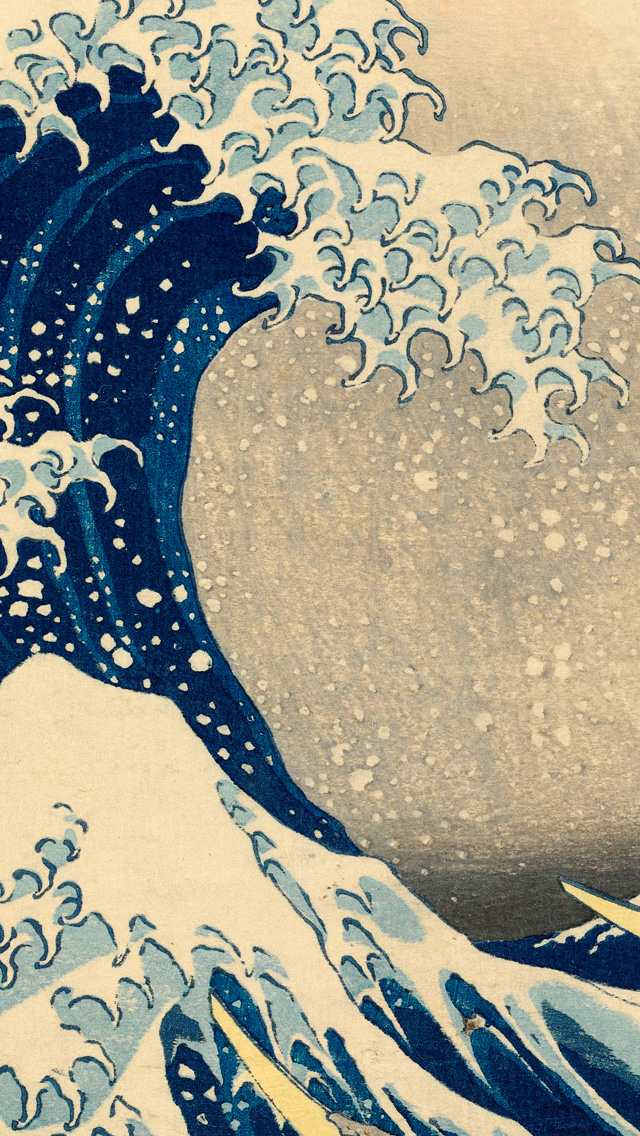 Great Wave Off Kanagawa Wallpaper - WallpaperSafari