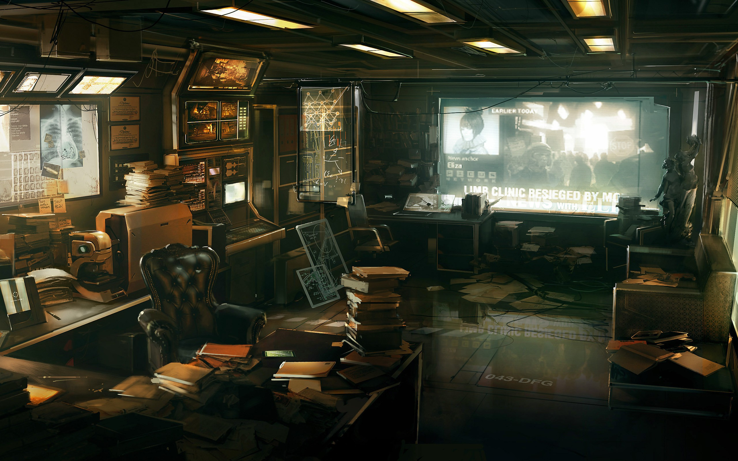 Evil Office Wallpapers Scary Resident Evil Office HD Wallpapers 2560x1600