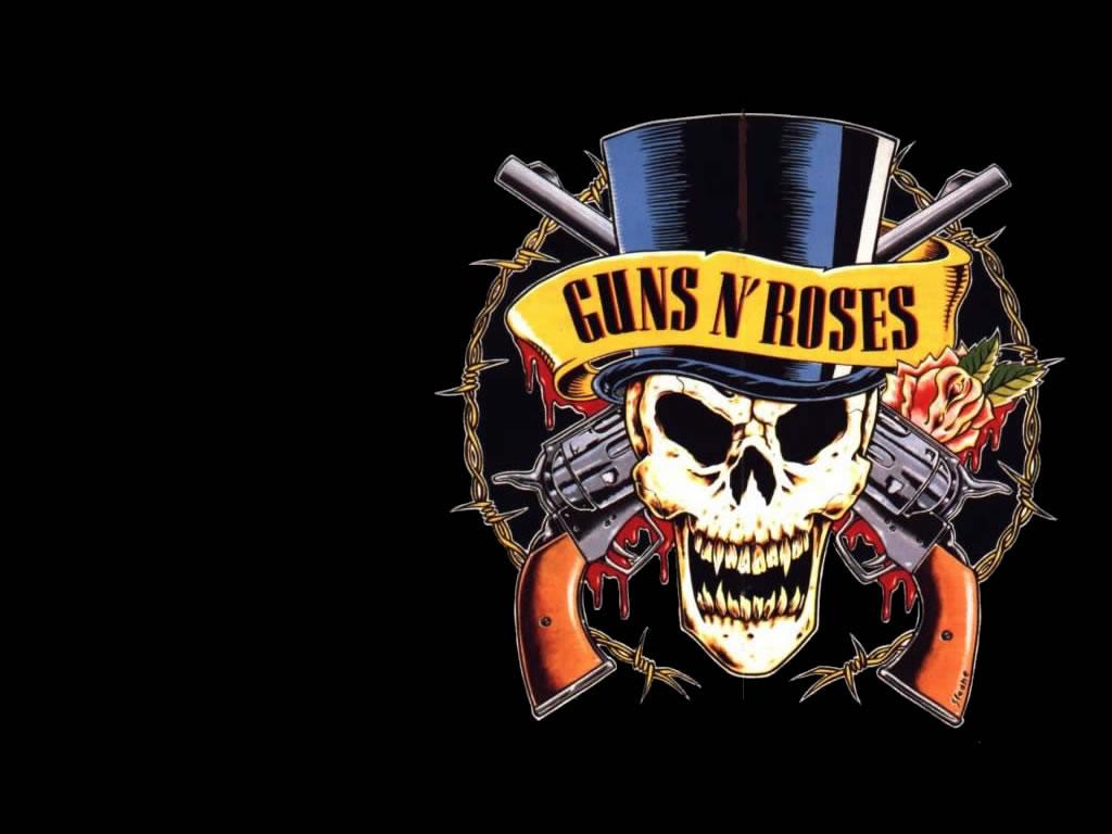 File Name Guns n Roses Logo HD Wallpaper 1024x768