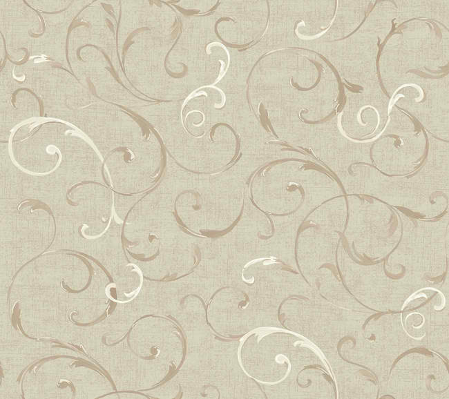 White Purple Gold Green Painterfly Floral Wallpaper   Traditional 650x578