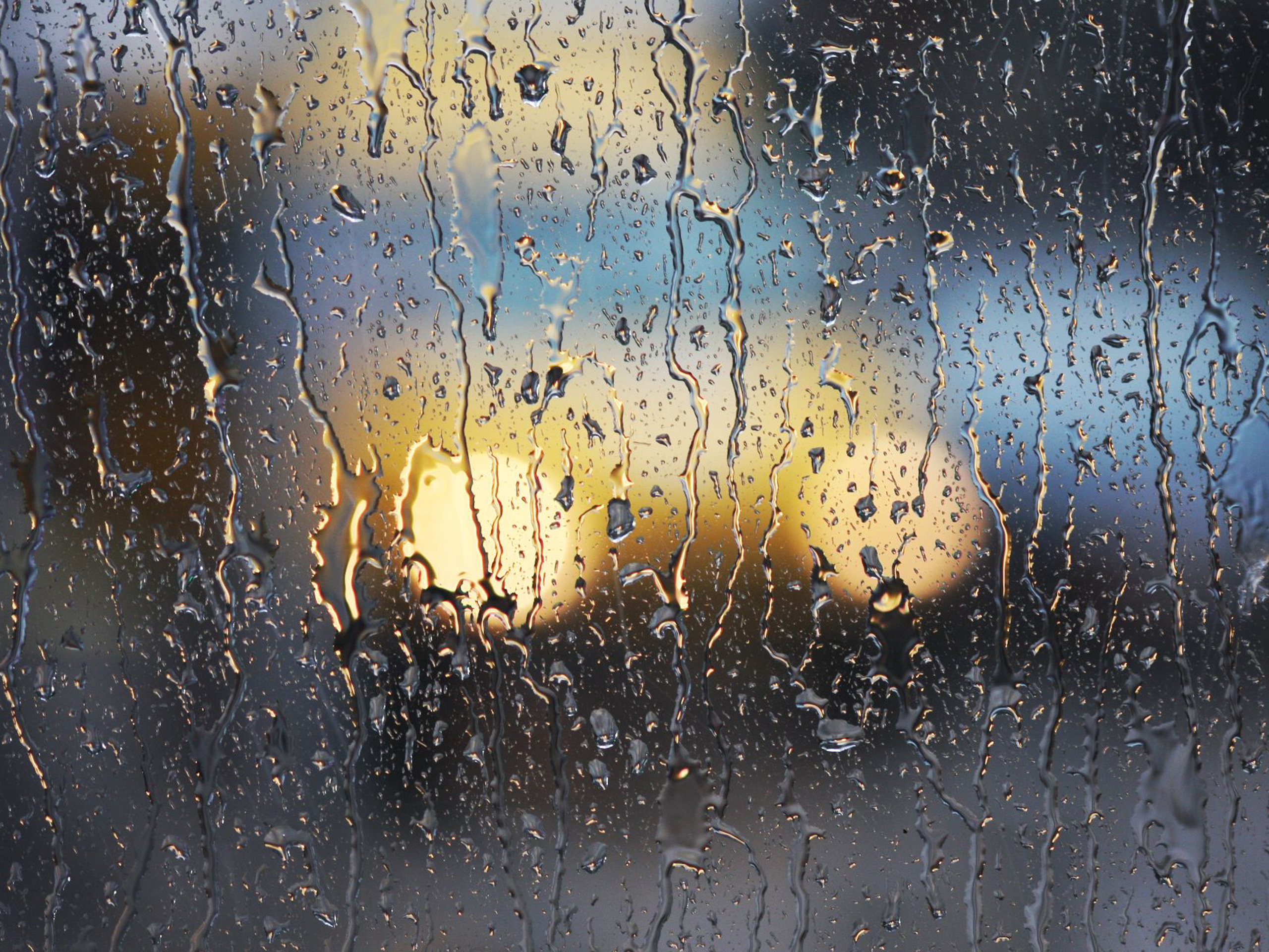Free Download Rainy Window In The Car 2560x1920 For Your