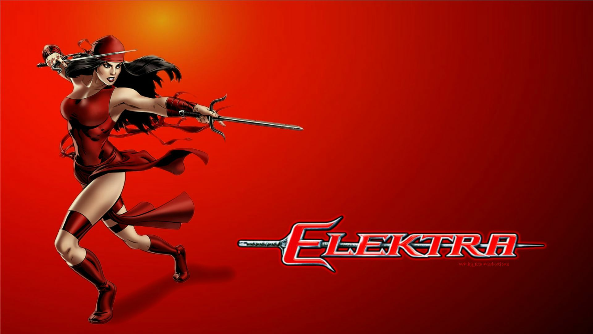 Elektra Wallpaper   Defending by Curtdawg53 1920x1080