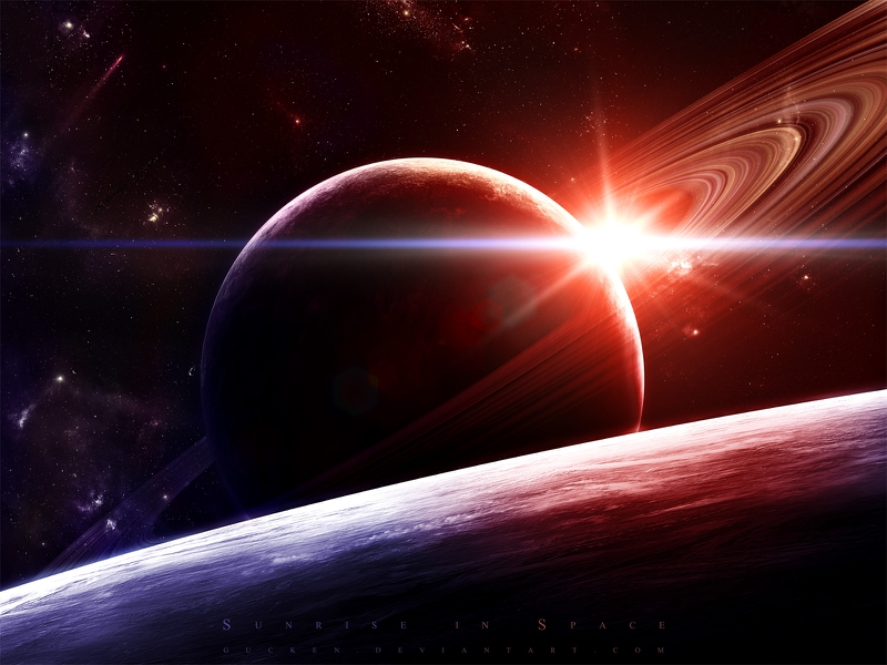 outer space planets saturn 1600x1200 wallpaper Space Planets 800x600