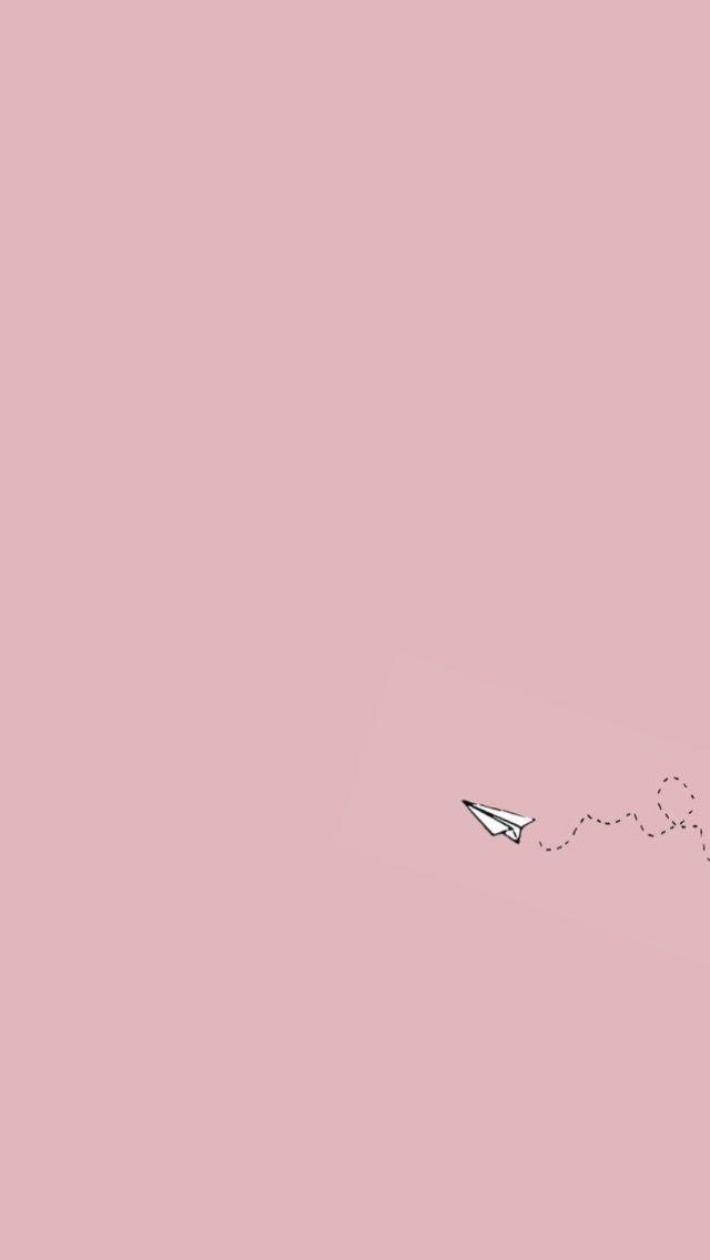 paper plane wallpaper Simplistic wallpaper Mood wallpaper 640x1136