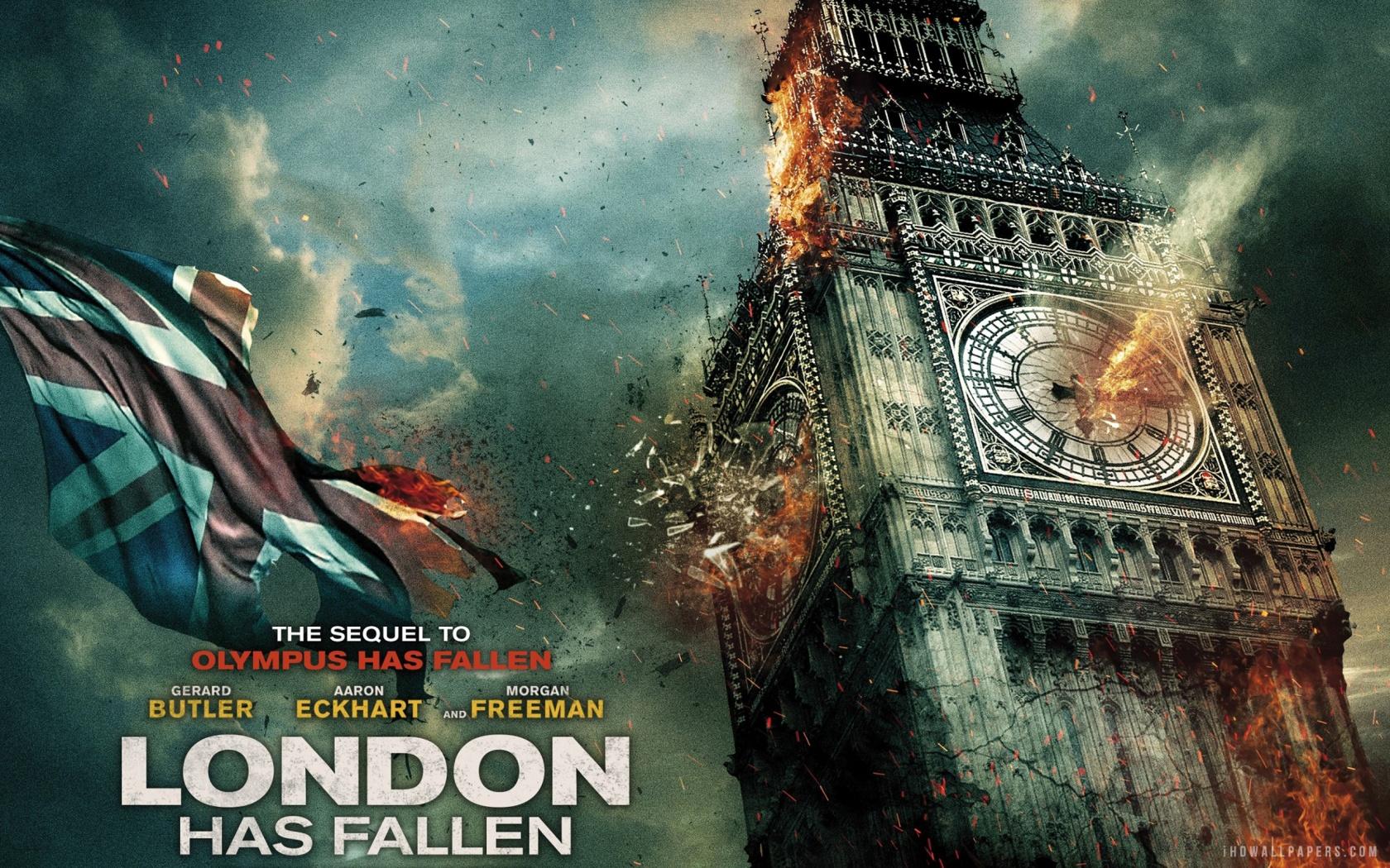 London Has Fallen Wallpaper 1680x1050