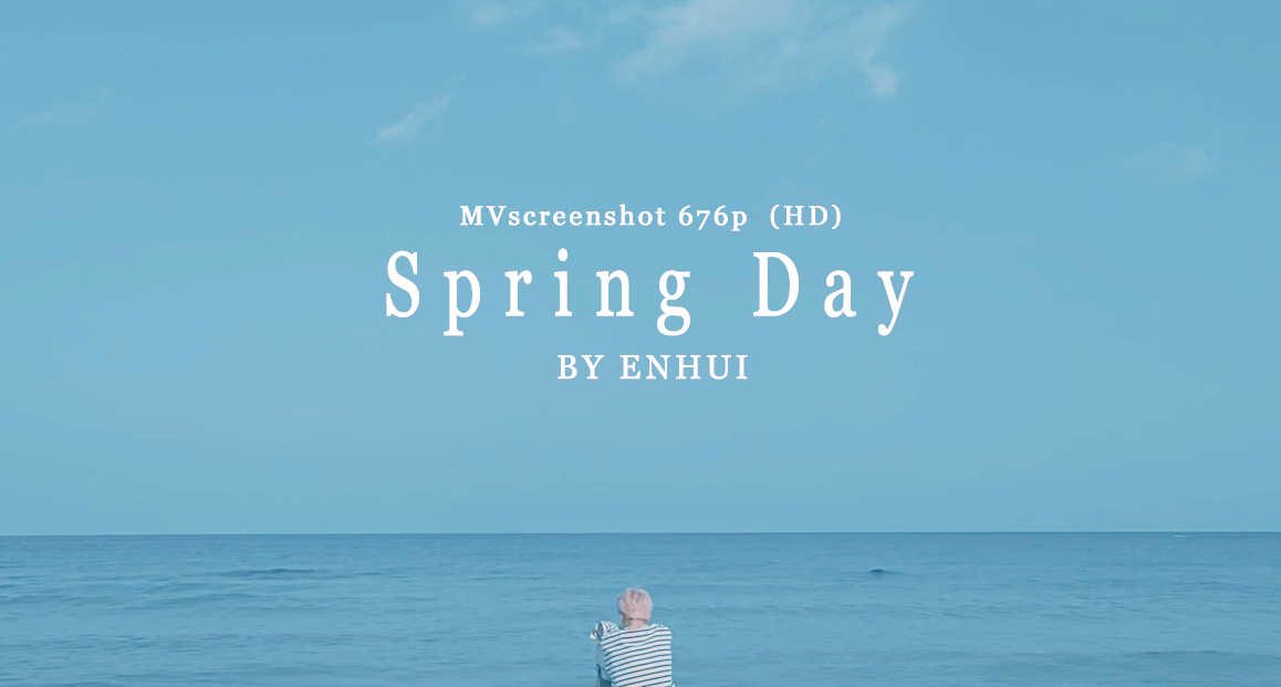 download BTS Spring Day MV Screenshot 676P HD by PuEnHui 1158x621