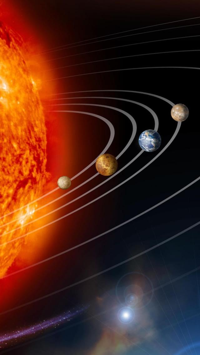 Solar System Hd Wallpaper Wallpapersafari