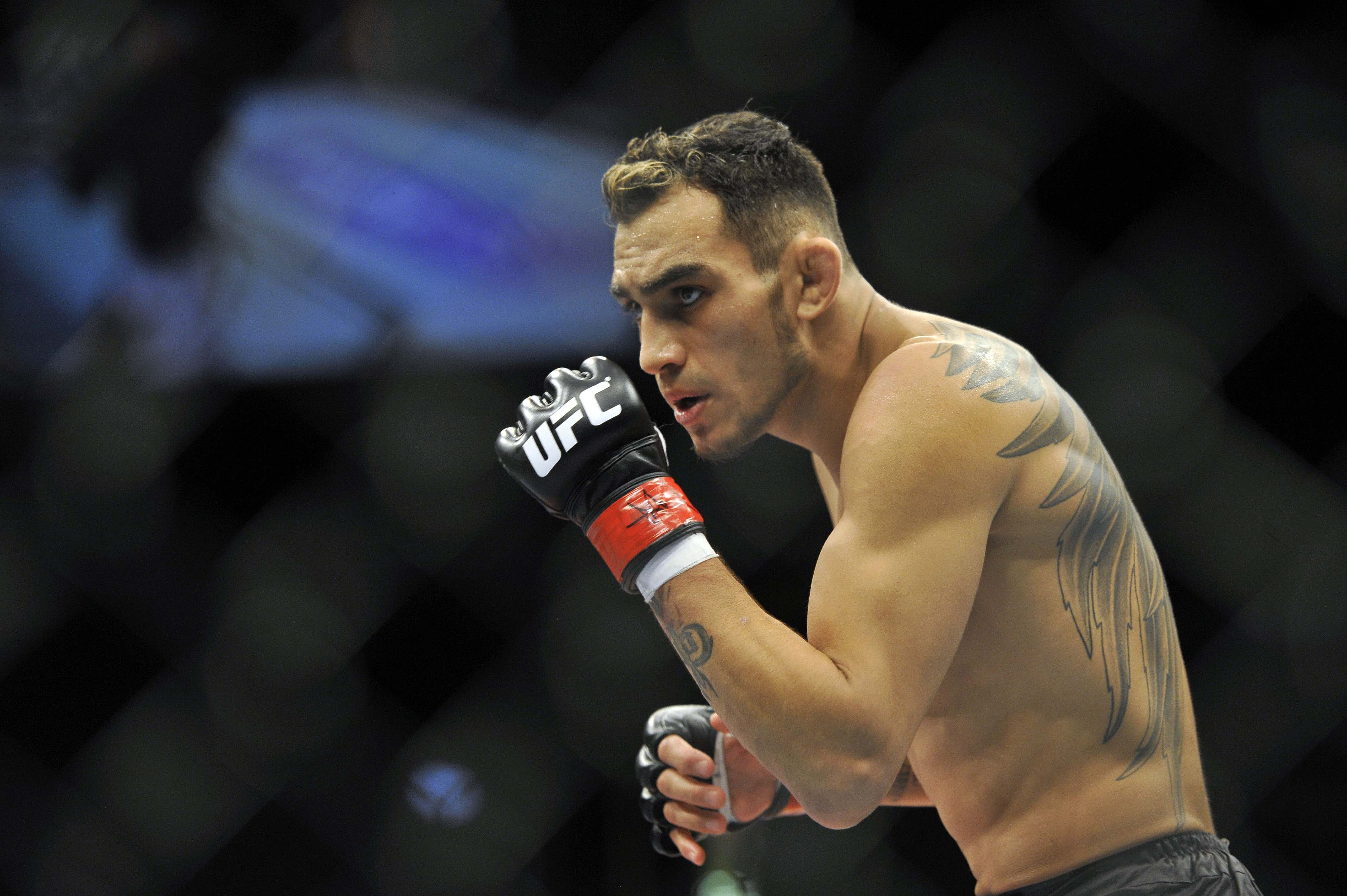 Tony Ferguson is willing to face either UFC lightweight champ Khabib Nurmagomedov or former titleholder Conor McGregor but in an ideal world hed