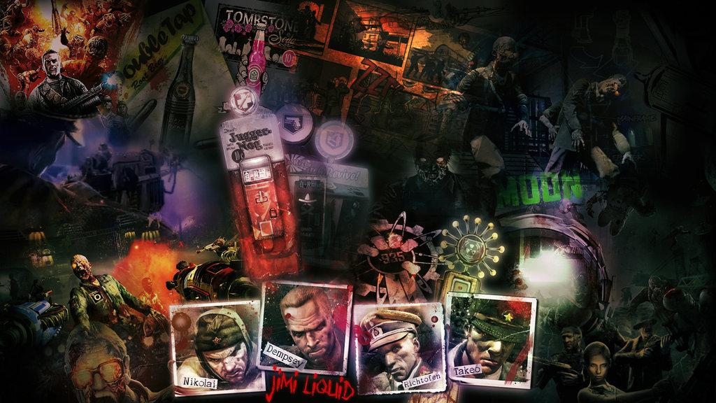 48 Cod Zombies Wallpaper On Wallpapersafari