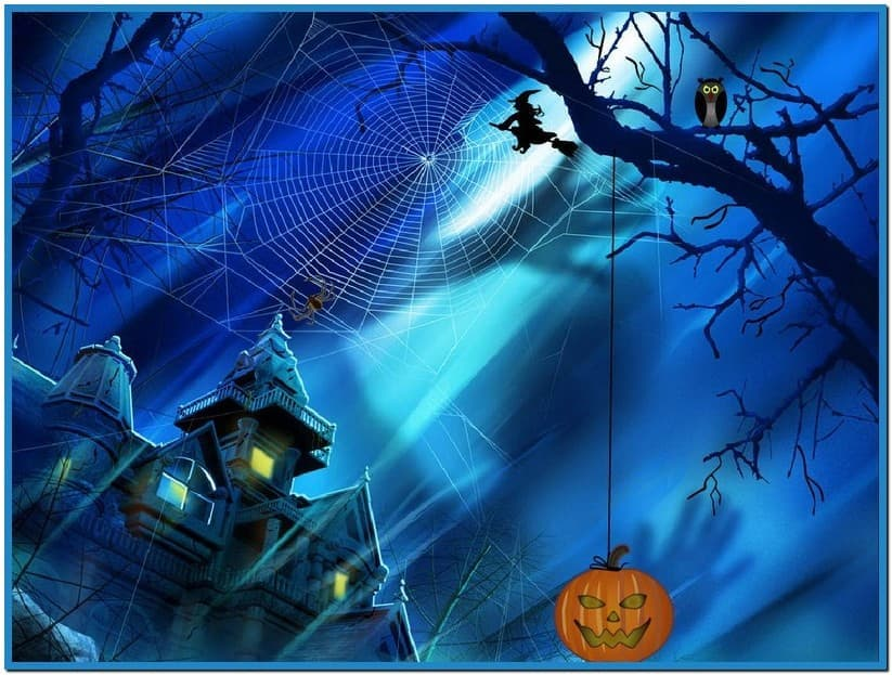 Microsoft screensavers windows 7 halloween   Download 823x623