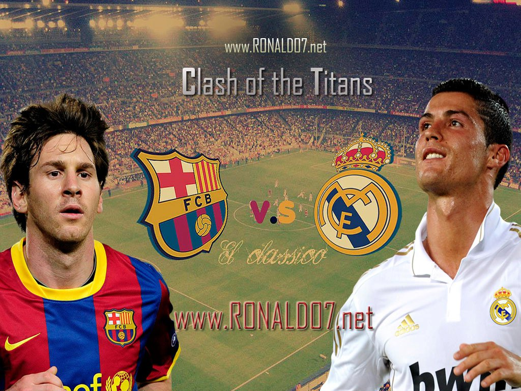 Messi and Ronaldo 1024x768