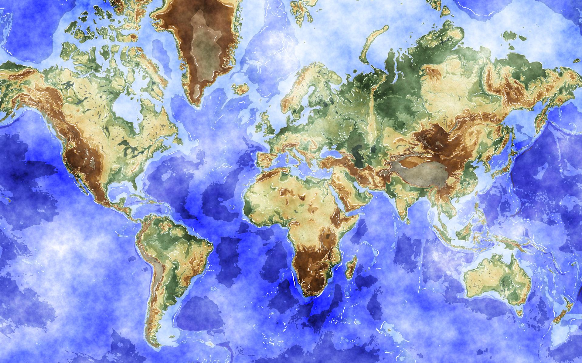 World Map Wallpaper High Resolution WallpaperSafari – Map World High Resolution