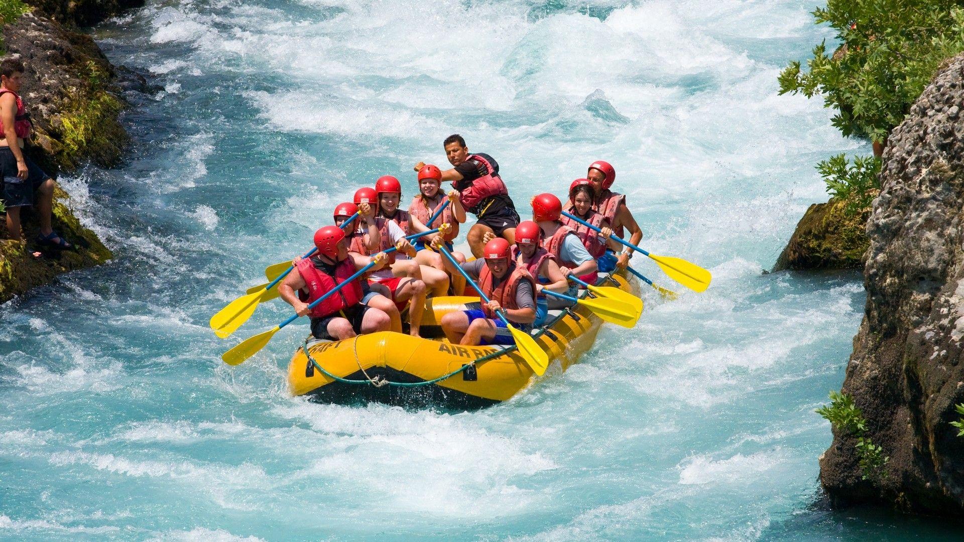 HD rafting wallpaper Rafting wallpaper Rafting Adventure 1920x1080