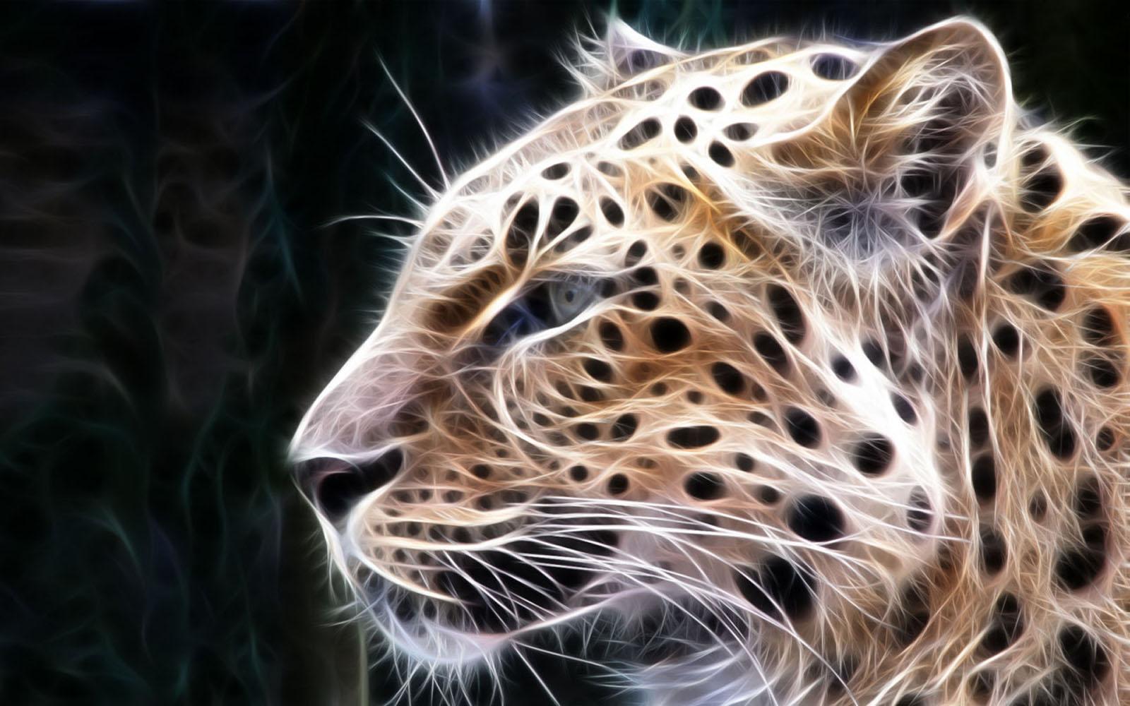 wallpaper Leopard 3D Wallpapers 1600x1000
