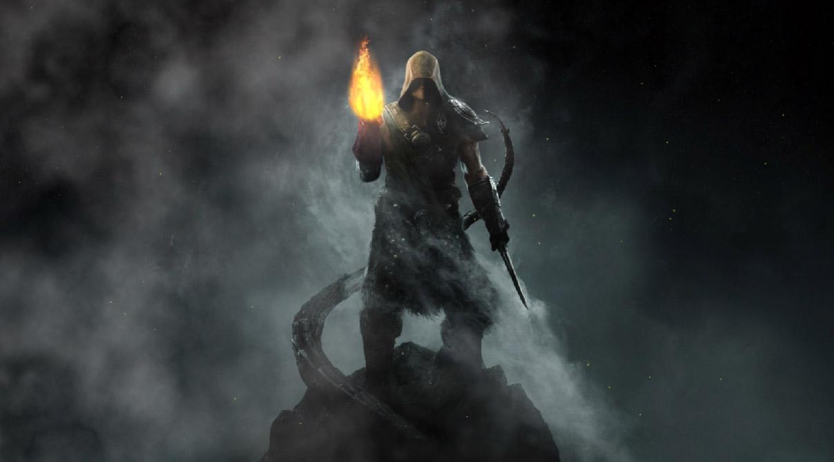 Spirit Of Vengeance Windows 7 Light 3D Forms Fire Dragon Pyrodesk 1206x669