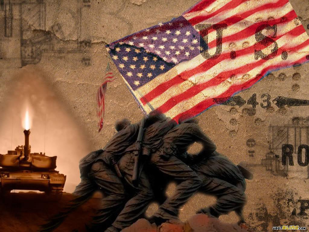Religious Patriotic Wallpaper 1024x768