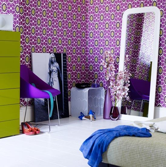 Bedroom Wallpaper Ideas 549x550