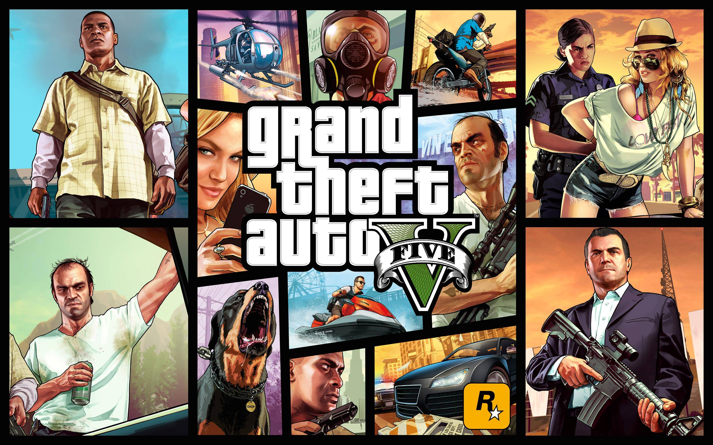 GTA V Wallpaper Full HD Background Pictures 2880x1800