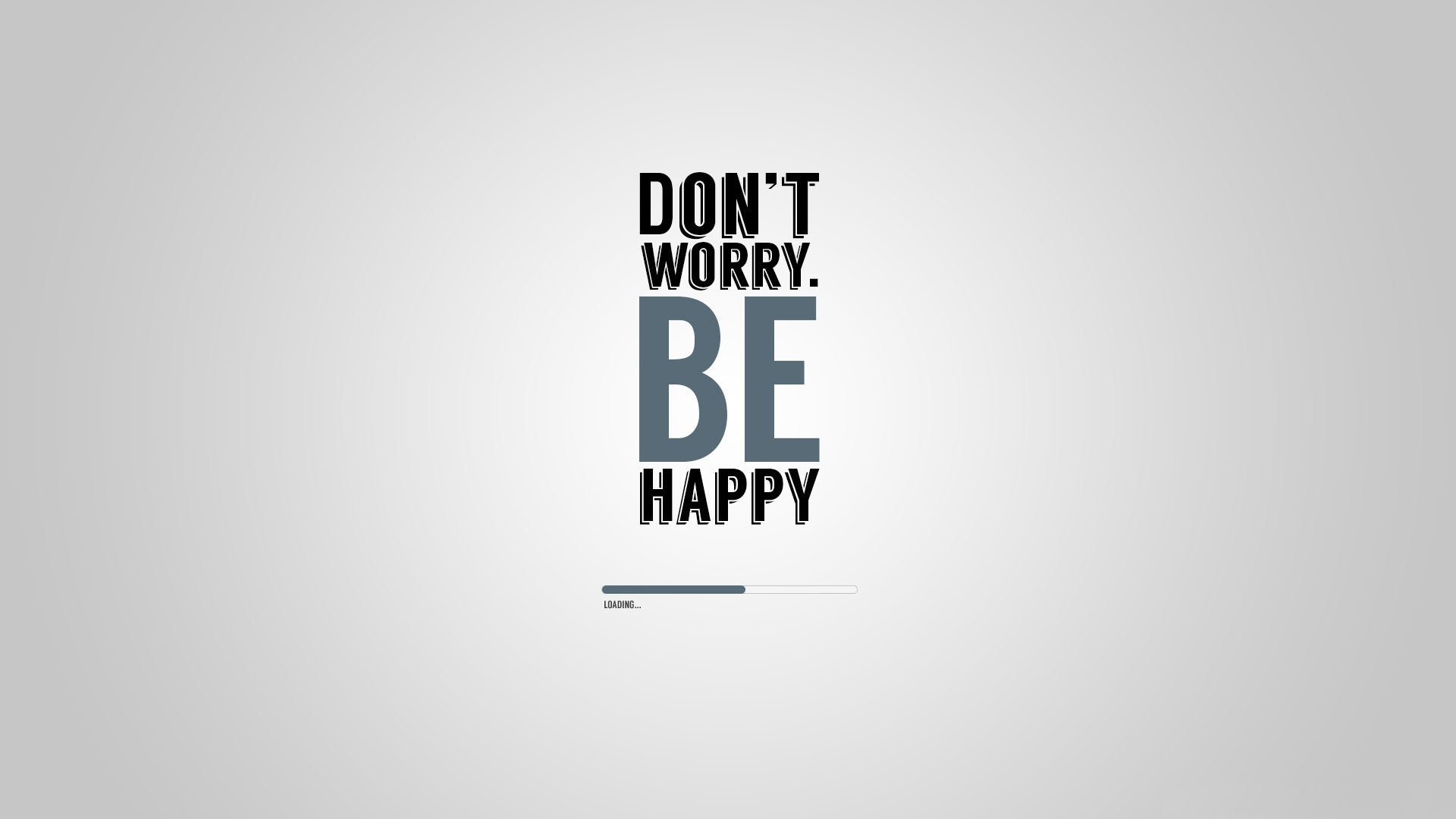 Dont worry be happy Mac Wallpaper Download Mac Wallpapers 1920x1080