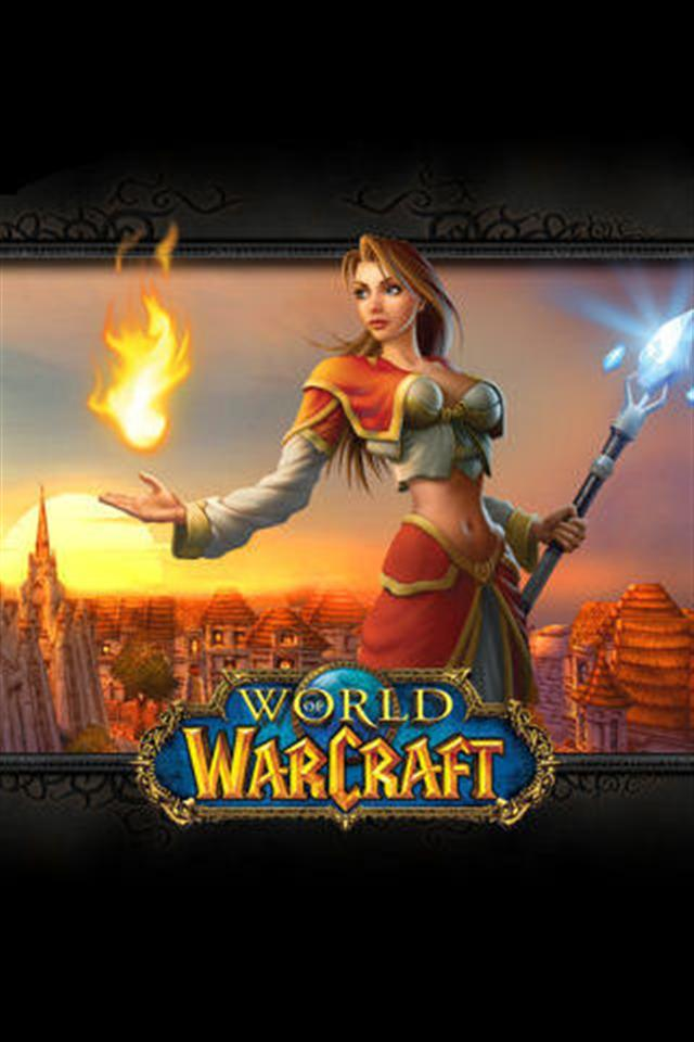 World of Warcraft Game iPhone Wallpapers iPhone 5s4s3G 640x960