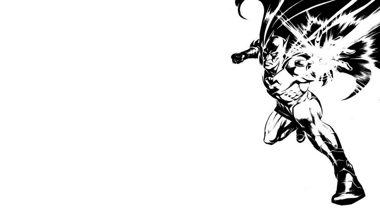 Free Download Black And White Batman Dc Comics Wallpaper 15861