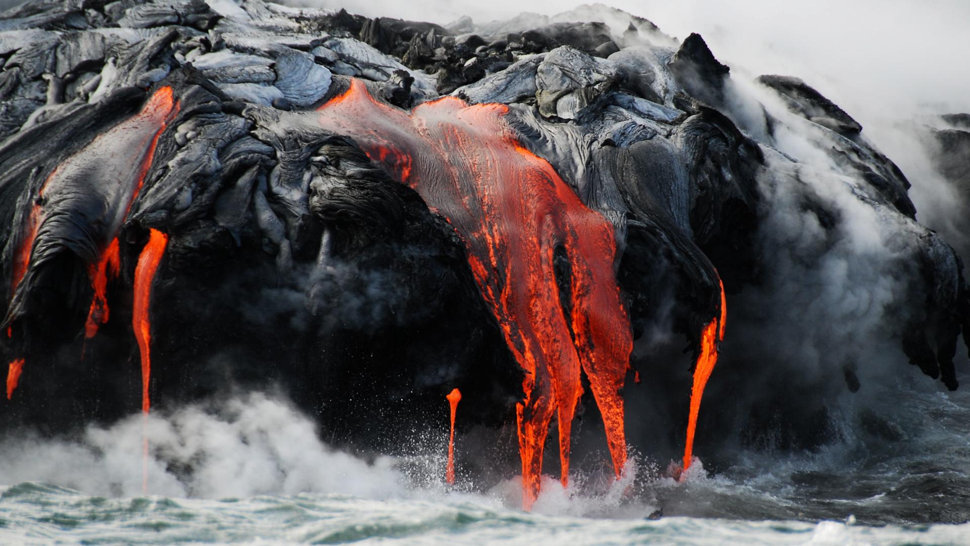 Volcano HD Wallpaper Background 38932 Wallur 1920x1080