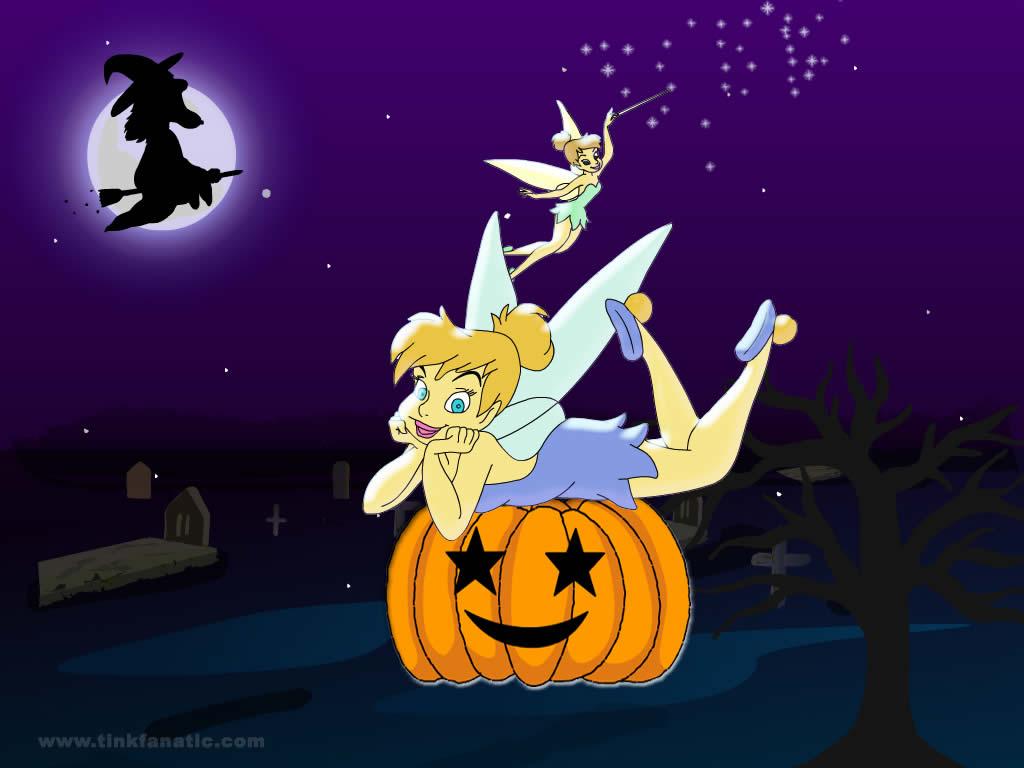 Halloween Wallpapers   Halloween Wallpapers Tinkerbell Halloween 1024x768