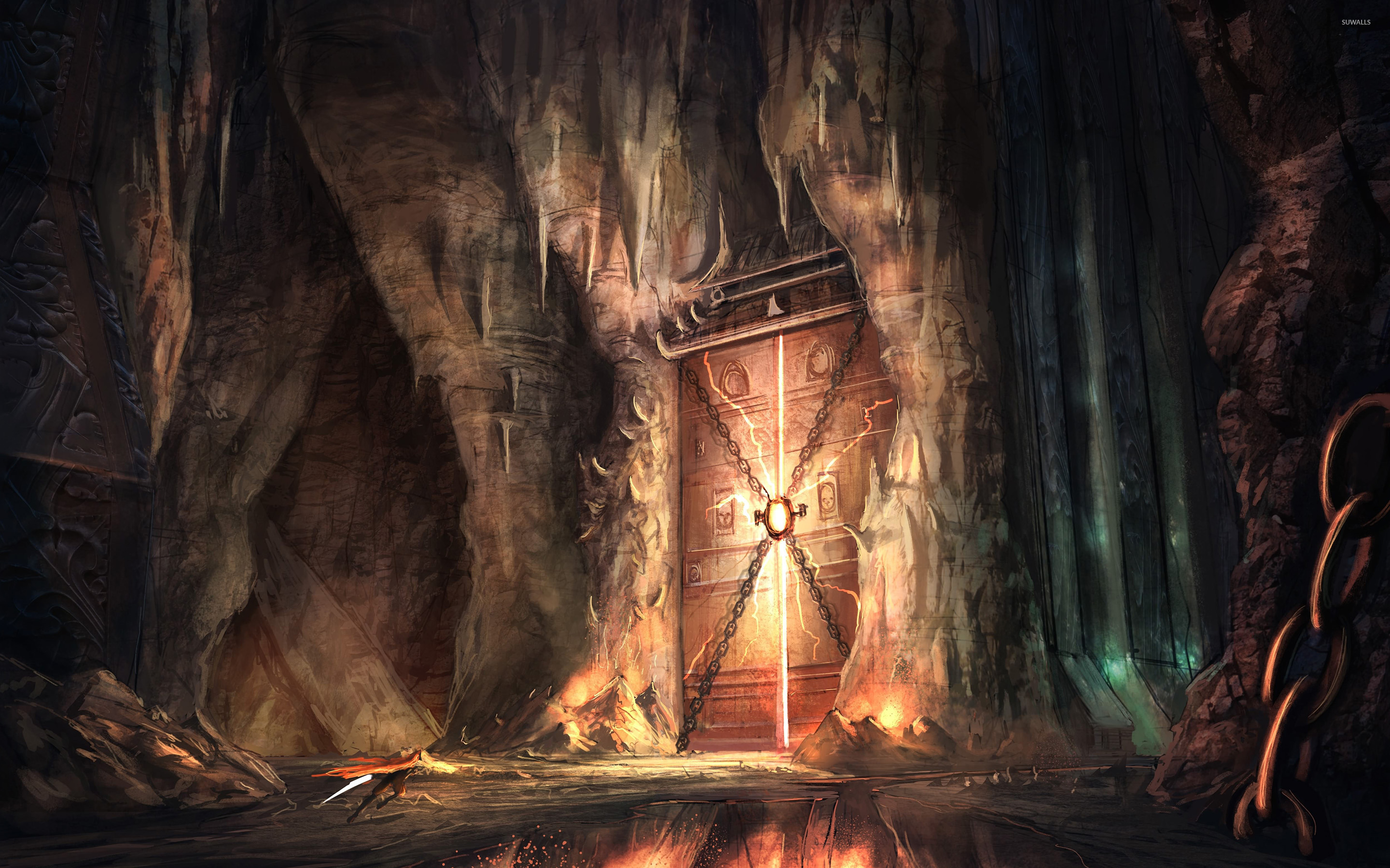 Gates of hell wallpaper   Fantasy wallpapers   43722 2880x1800