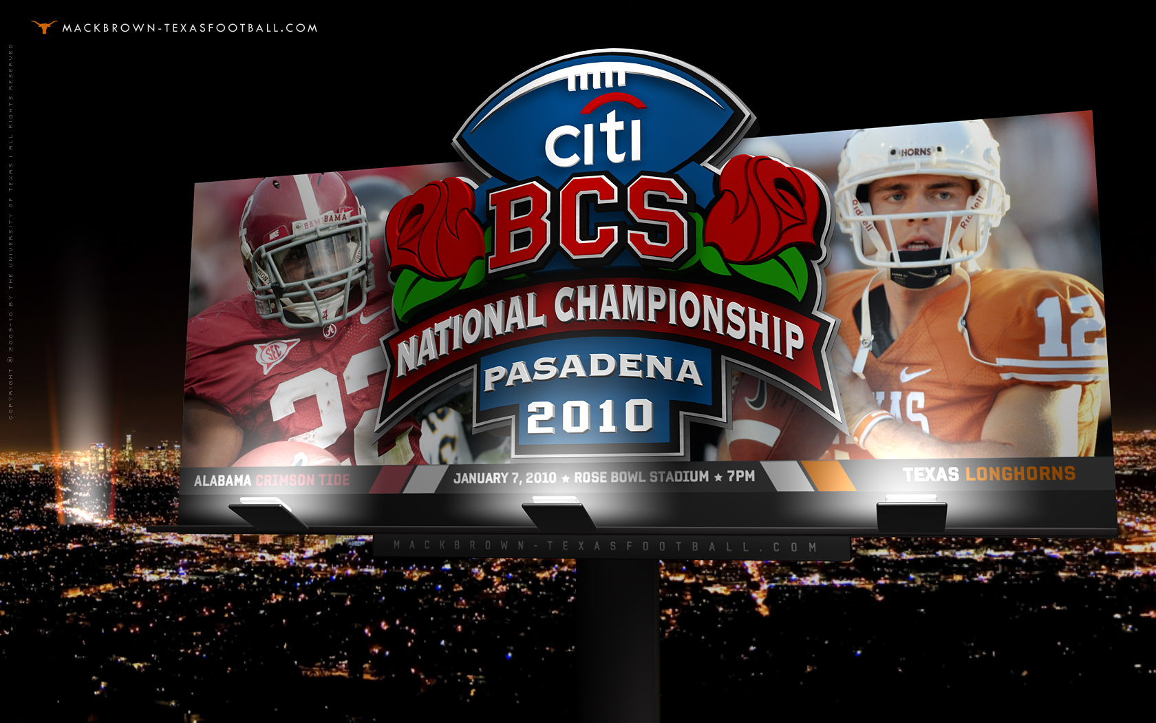Alabama Football Championships Wallpaper Bcs championship game 1 1680x1050