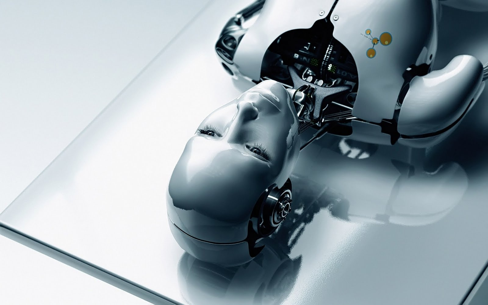Wallpapers Box Humanoid Robot High Definition Computer Wallpapers 1600x1000
