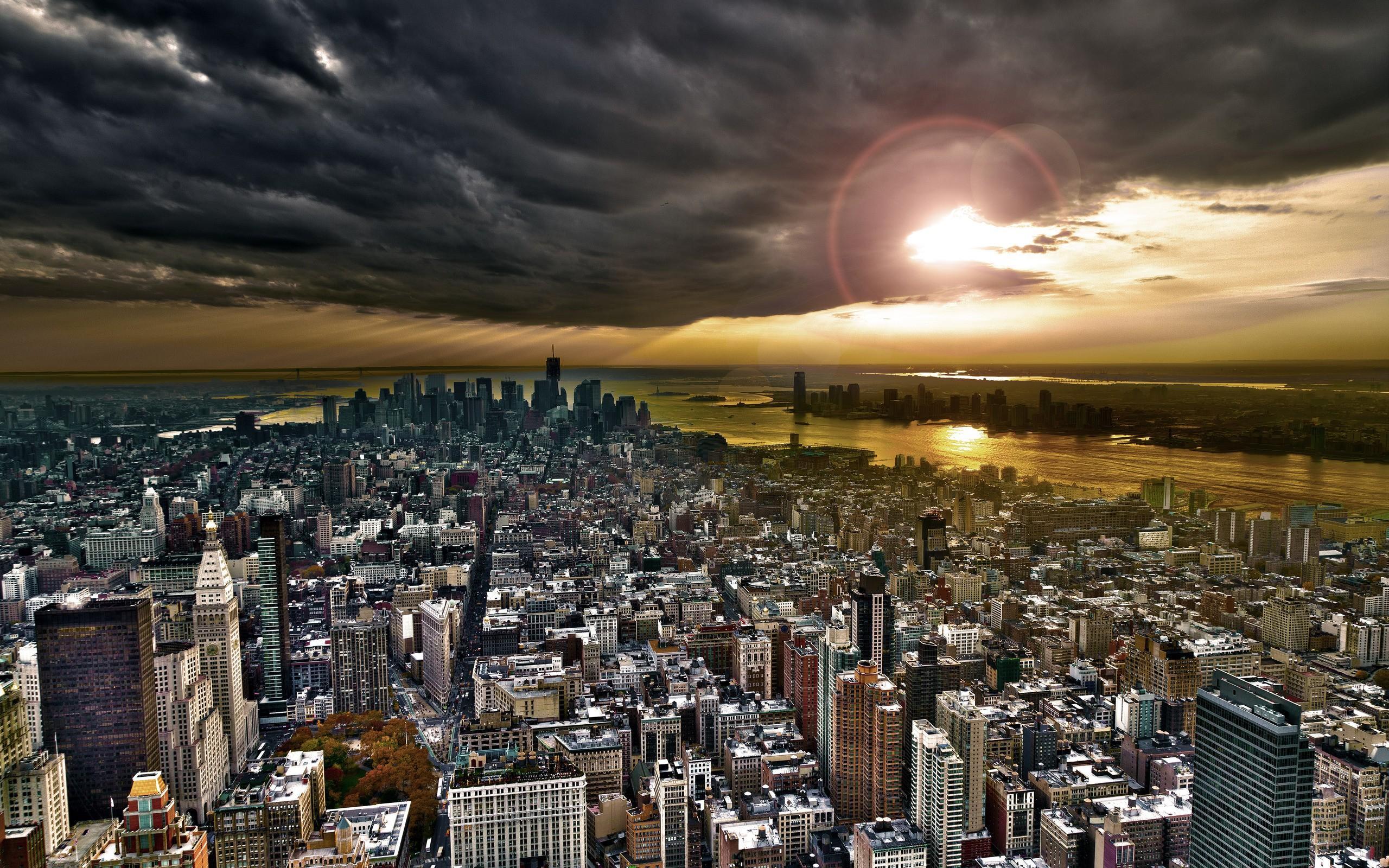 New York City Skyline Wallpaper 4K Wide Screen Wallpaper 1080p2K4K 2560x1600