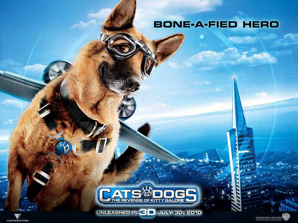 The police dog in Cats Dogs The Revenge of Kitty Galore wallpaper 1024x768
