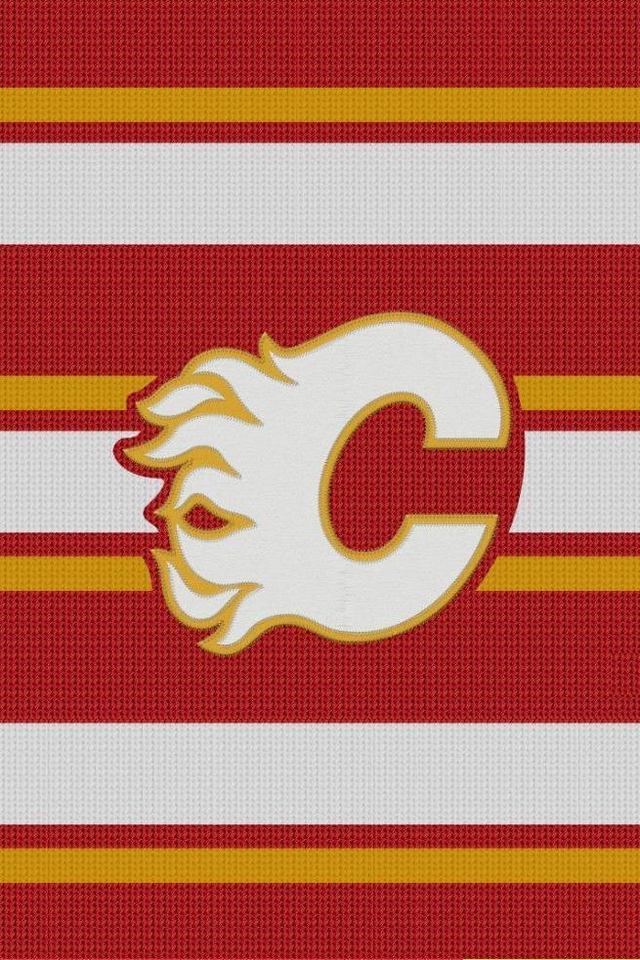 Calgary Flames NHL   Download iPhoneiPod TouchAndroid Wallpapers 640x960