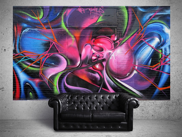 Graffiti Wall Murals by SUUMO HiConsumption 630x475