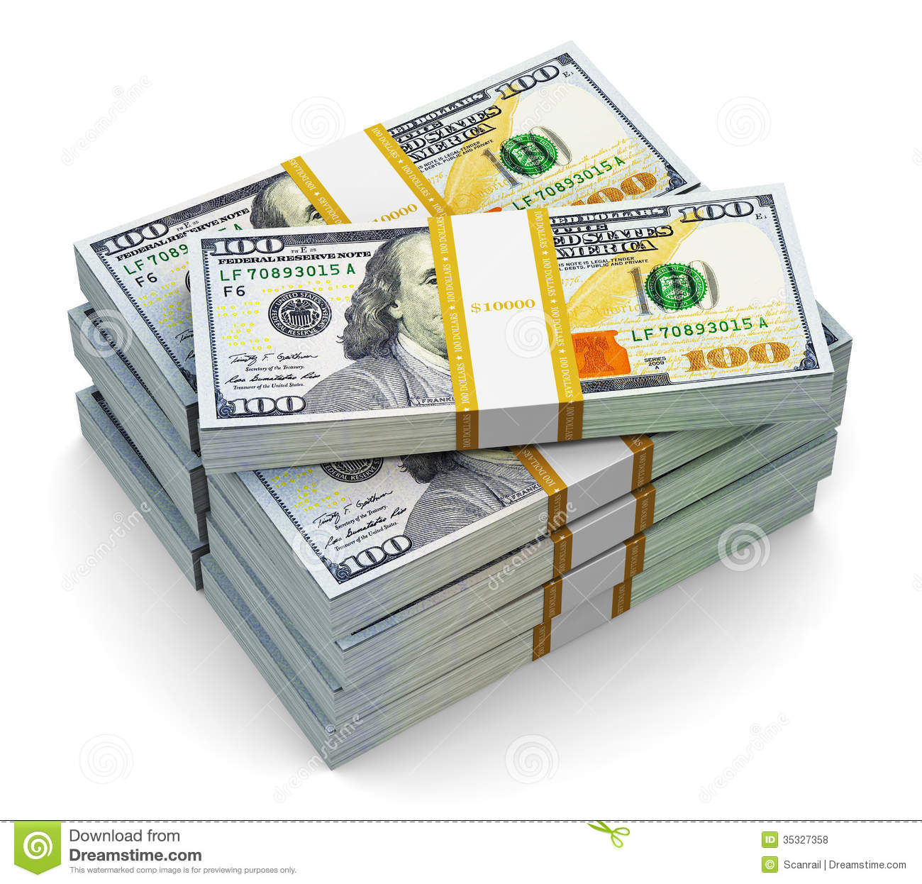 Stacks Of 100 Dollar Bills On Table   traffic club 1300x1246