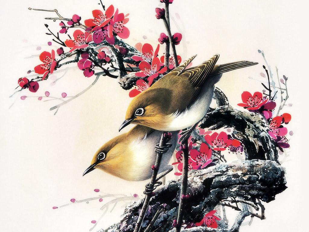 creativity designs Chinese Painting Art 1024x768