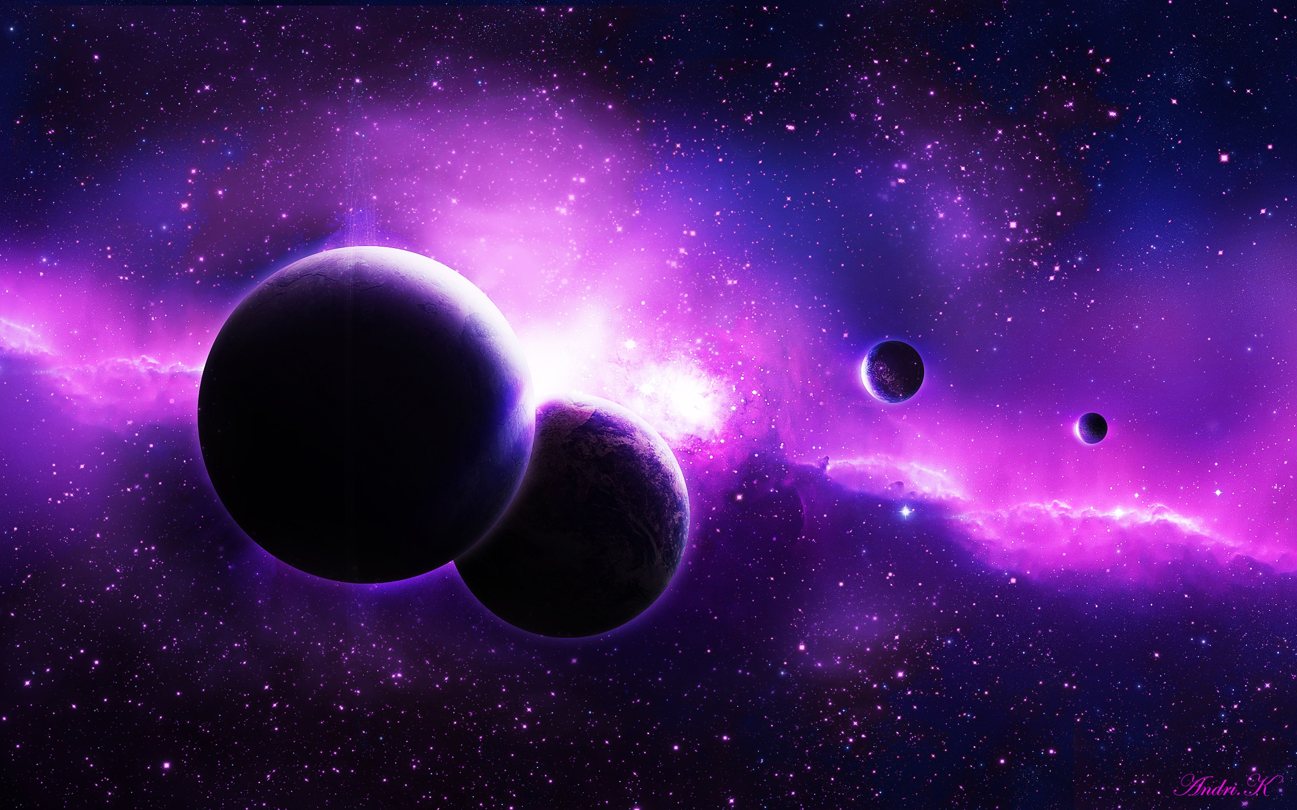 Planets Wallpapers Purple Planets Backgrounds Purple Planets 2560x1600