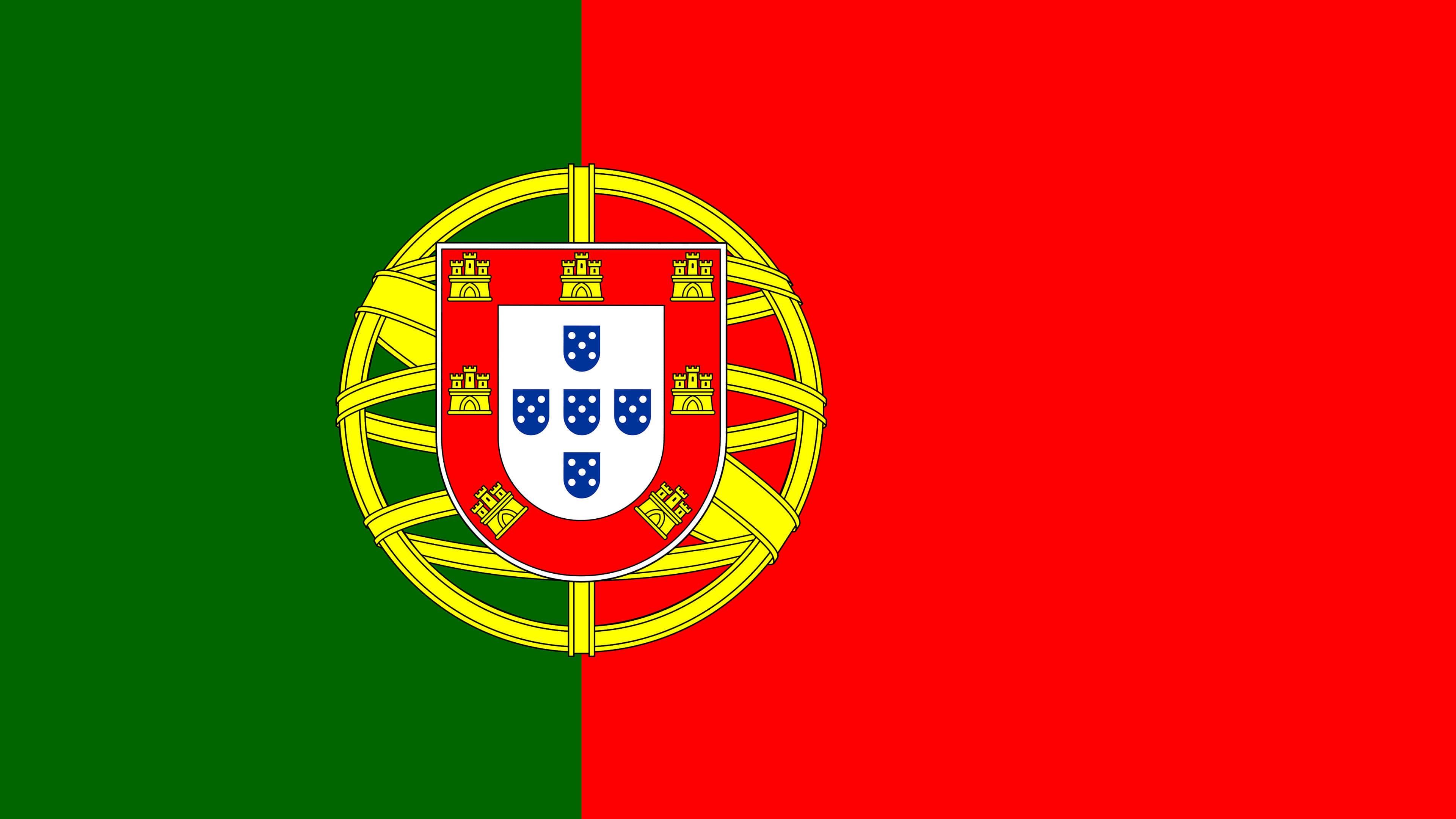 Portugal Flag UHD 4K Wallpaper Pixelz 3840x2160