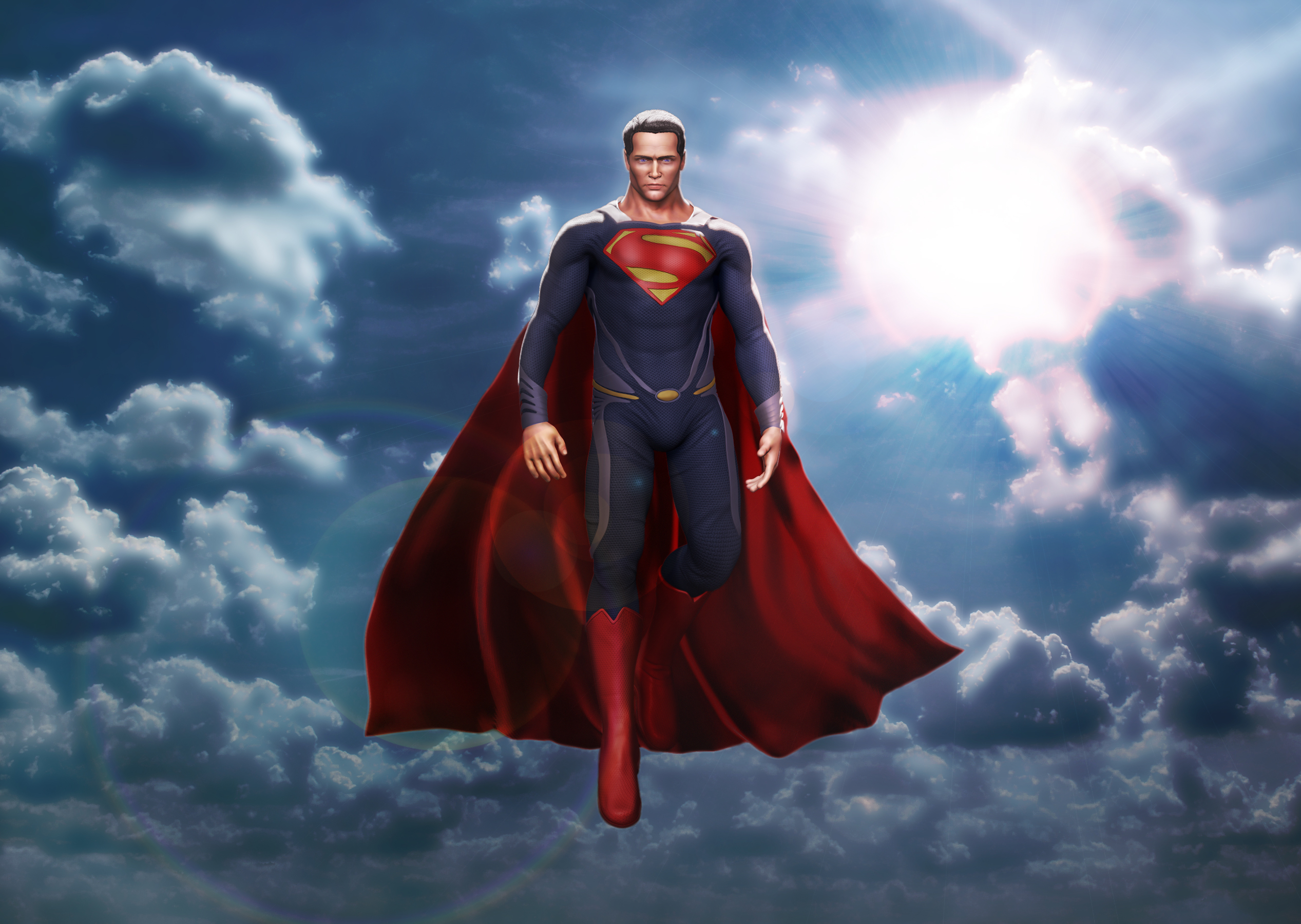 Man Of Steel superman superhero comic comics wallpaper 2534x1800 2534x1800