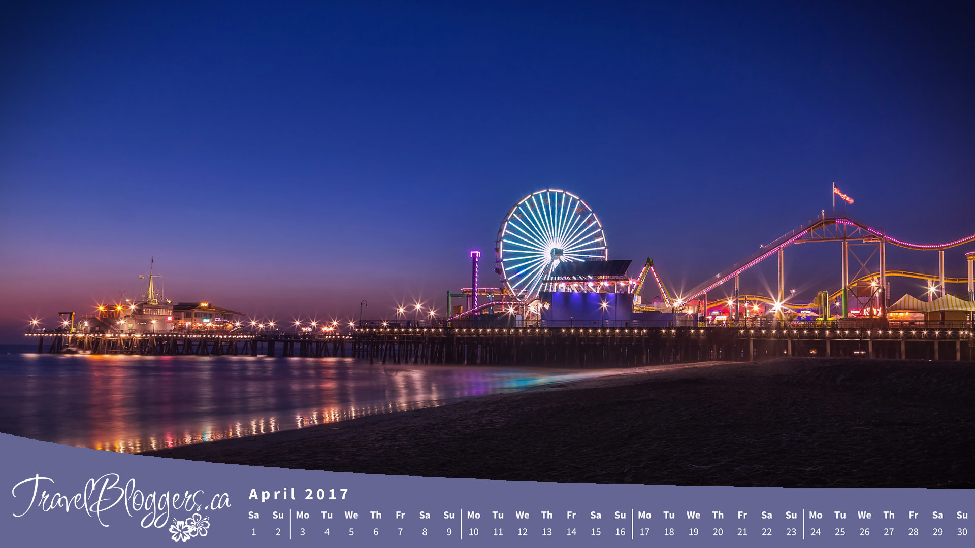 Santa Monica Pier Wallpaper 57 images 1920x1080