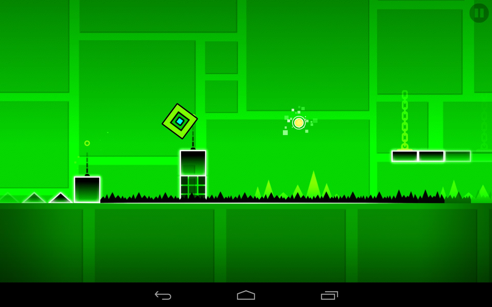 how to make cool backgrounds in geometry dash